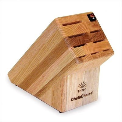 Chefschoice Chefs Choice Trizor Knife Block 9-Slot - Oak, Wood