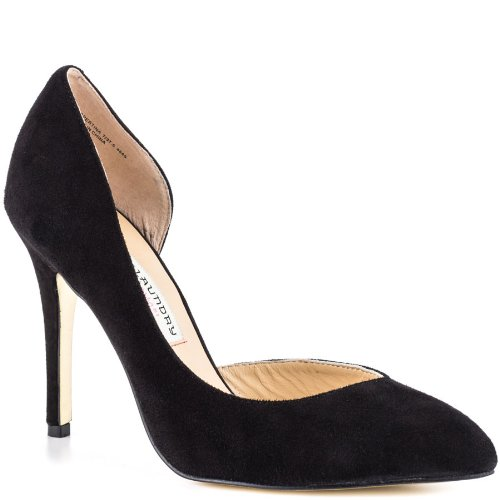 Chinese Laundry Kristin Cavallari Women's Copertina Pump,Black Kid Suede,8.5 M US Picture