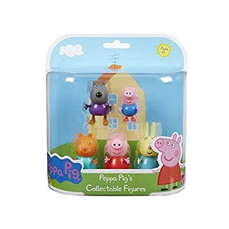 Peppa Pig - 33567 - Pack De 5 figurines