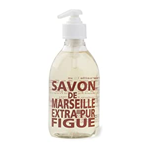 Compagnie de Provence Liquid Marseille Soap in 10 oz Plastic Bottle (Fig of Provence)