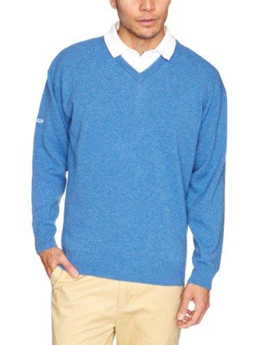 pro-quip-maglia-con-scollo-a-v-in-lana-dagnello-idrorepellente-da-uomo-nero-blu-marina-xxl