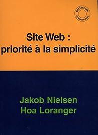 Site Web : priorité à la simplicité par Jakob Nielsen