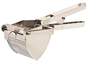 Browne Foodservice 3RS Stainless Steel Giant Potato Ricer with Welded-On Bowl, 17-Inch by Browne Foodservice