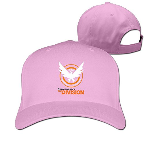 Rock Tom Clancy Custom Unisex Trucker Adjustable Baseball 9FIFTY Snapback Hip Hop Dad Camp Cap Hat Pink