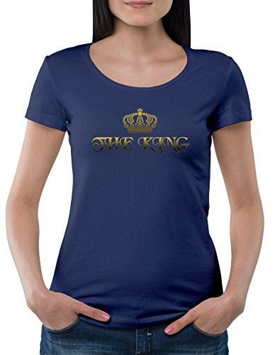 the-queen-series-for-couples-her-majesty-has-a-king-womens-classic-t-shirt-by-jungle-tribe-xx-large
