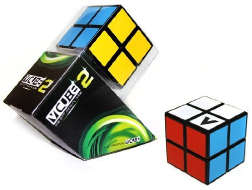 V-Cube VCB 2 Cube Toy, Black/Multicolor