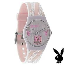 buy Playboy Watch Pink Strap Varsity Vixen Ladies Designer Fashion Authentic Official Licensed