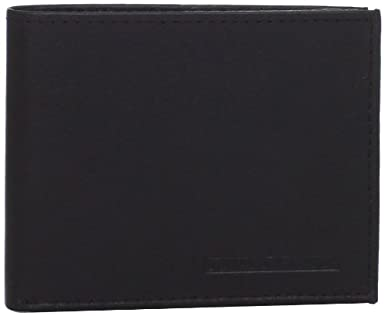 Donald Trump Men's Embossed Logo Passcase Billfold