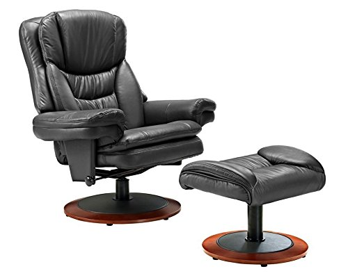 Swivel Recliner With Ottoman front-419974