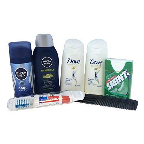 freshen-up-man-toiletries-bag-antiperspirant-body-wash-shampoo-conditioner-smint-dental-kit-comb
