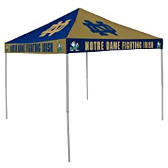 Notre Dame Checkerboard Tailgate Tent by Logo Chairs