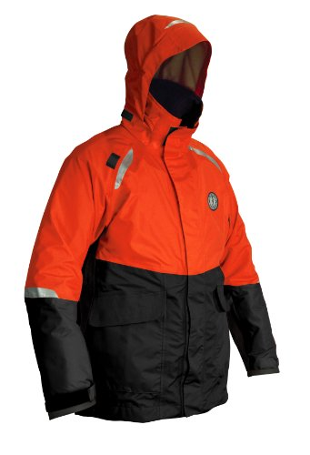 Mustang Survival Catalyst Flotation Coat, Orange/Black,