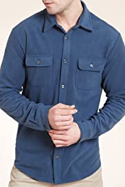Blue Harbour Classic Collar Micro Fleece Shirt [T28-2345M-S]