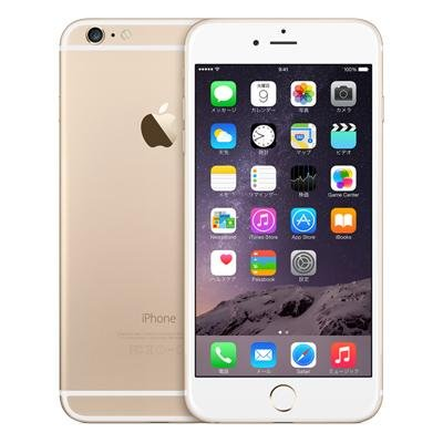 Apple iPhone6 Plus 128GB A1524 ゴールド [MGAF2J/A]国内版 SIMフリー