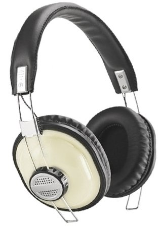 Kinyo Ph-689 White Retro-Styled Headphones