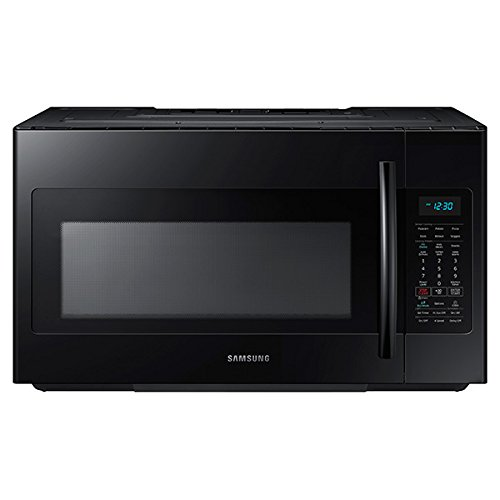 Samsung ME18H704SFB 1.8 Cu. Ft. 1000W Over-the-Range Microwave, Black Via Amazon