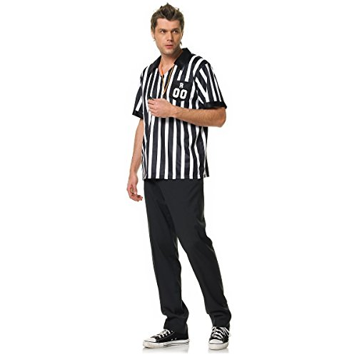 [Referee Costume - Medium/Large - Chest Size 43] (Mens Referee Costumes)