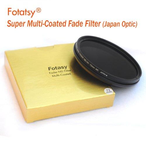RainbowImaging 77mm Adjustable Fader ND Filter Neutral Density (ND2 - ND400) Multi-Coated Japan