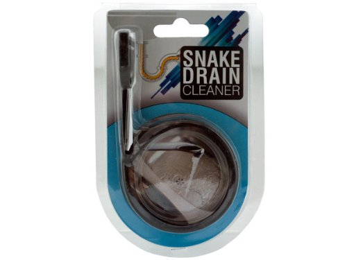 bulk buys MR119 Snake Drain Cleaner, Black - 1