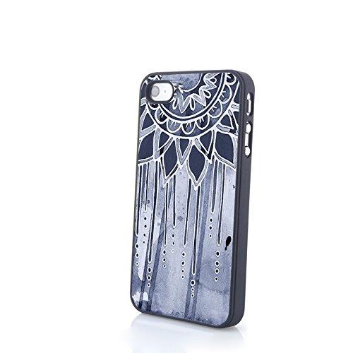 Generic Phone Accessories Matte Hard Plastic Phone Cases Multicolor Dream Catcher Fit For Iphone 4/4S