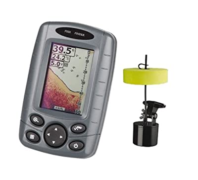 Signpost Ff-003 Portable Fishfinder Outdoor Fishing Tool Sonar Sensor Boat Fish Finder Depth Locator With Lcd Display from Signswise