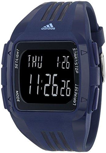 adidas ADP6116 Blue Digital Watch with Polyurethane Band