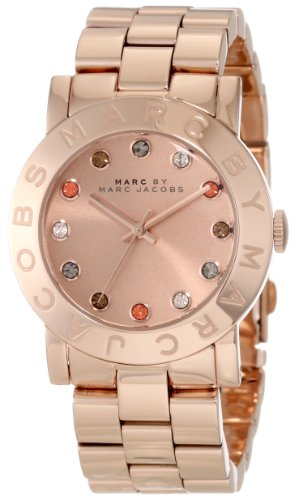 Marc by Marc Jacobs Rose Gold Ion Plated Stainless