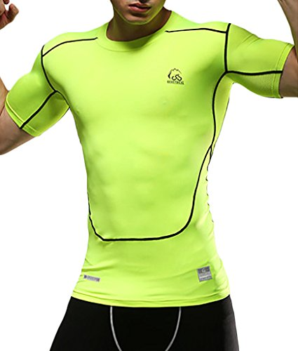 Men's Classic Fit Solid Crewneck T-Shirt for Running (Morph Suit Sizing)