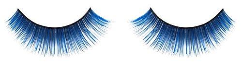 Zinkcolor Cobalt Blue False Synthetic Eyelashes E022 Dance Halloween Costume (Blue False Eyelashes compare prices)
