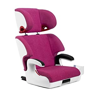 Clek Oobr Booster Car Seat, Snowberry