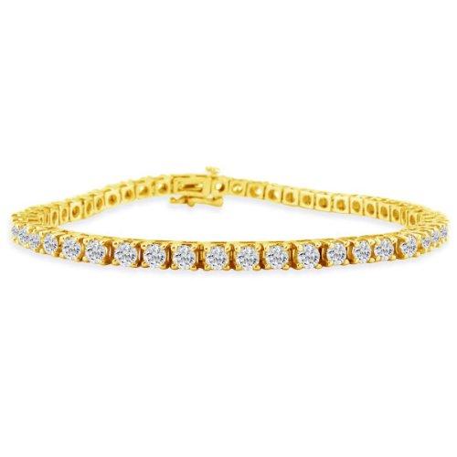 2ct Diamond Tennis Bracelet in 14k Yellow Gold