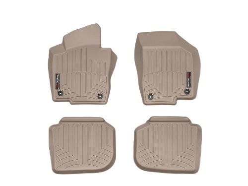 WeatherTech First and Second Row FloorLiner (Tan) (Weathertech 2014 Nissan Maxima compare prices)