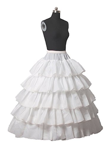 Diyouth 2015 Wedding Gown Petticoats Underdress Bridal Slip Skirt Pettiskirt