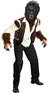 The Wolfman Deluxe Halloween Costume - Child Size Large