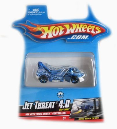 Hotwheels Turbo Driver Jet Threat 4.0 Car-Tridge