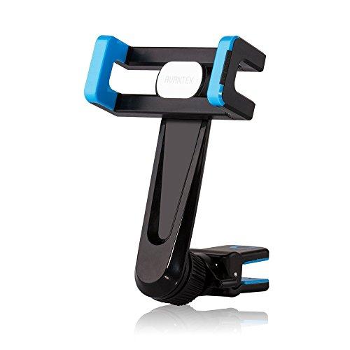 AVANTEK スマホホルダー スマホスタンド 携帯車載ホルダー エアコン吹き出し口 360度回転可能 簡単な取り付け 強化された安定性 CM09 (ブルー)