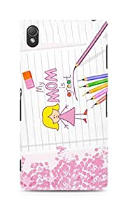 Amez designer printed 3d premium high quality back case cover for Sony Xperia Z3 (Mother?s Day)