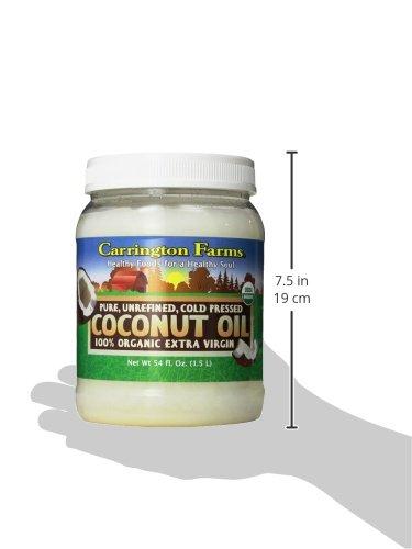 Carrington farms coconut oil nutrition facts