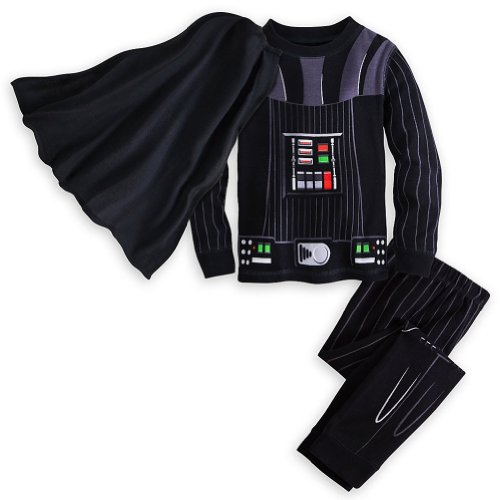 Disney Store Deluxe Darth Vader Pajama PJ Star Wars Size Small S 6