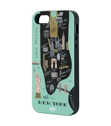 Rifle Paper Co - iphone 5 Inlay Case - New York City (Rifle Paper Co Iphone 5 Case compare prices)