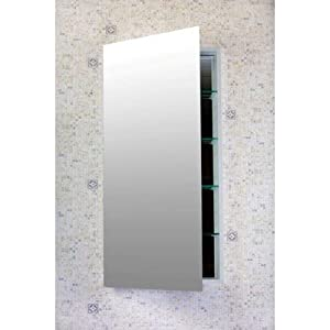 """Bundle-10 Contemporary 20"""" Wide Medicine Cabinet with Optional Side Panels (3 Pieces) Height: 36"""""""