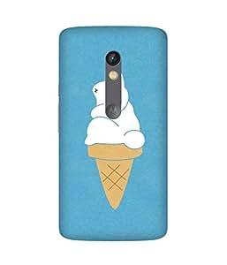 Bunny Ice Cream Motorola Moto X Play Case