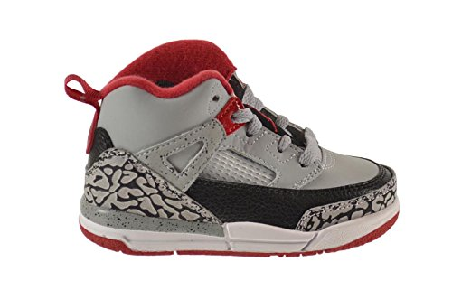 Jordan Spizike BT Baby Toddlers Shoes Wolf Grey/Gym Red-Black 317701-013 (10 M US)
