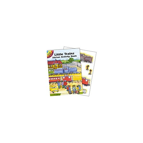 Dover BB005548 Train Sticker Book - 1