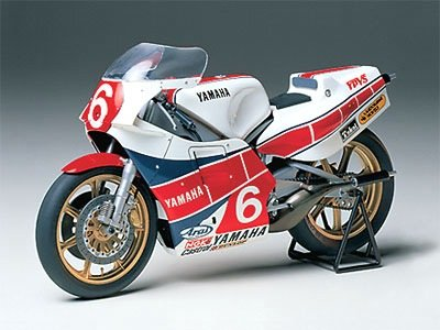 1:12 Tamiya Yamaha YZR500 (OW70) Taira Motorcycle Model Fully Assembled