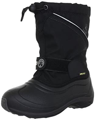 Kamik QuiverG NK8029, Unisex - Kinder Stiefel, Schwarz (blk), EU 27 (US 10)