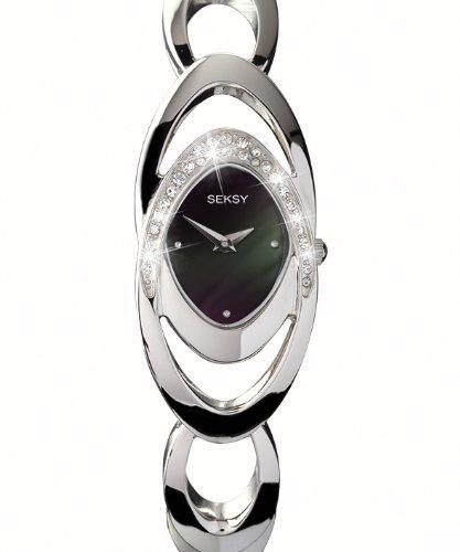SEKSY Wristwear by Sekonda 4282.37 Ladies Stone Set Watch