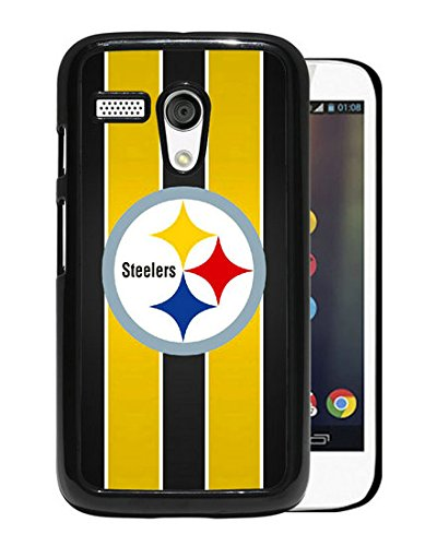 Amazing Design With Advanced Pittsburgh Steelers 24 Black Motorola Moto G Cover Case at Steeler Mania