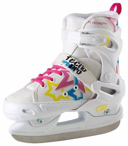 TECNOPRO Mädchen Eishockey-Schlittschuh Complet Delta Soft Kinder