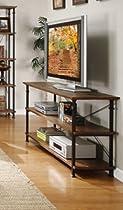 Big Sale Homelegance Factory Sofa Table in Rustic Brown